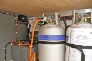 LPG tank inbouwen