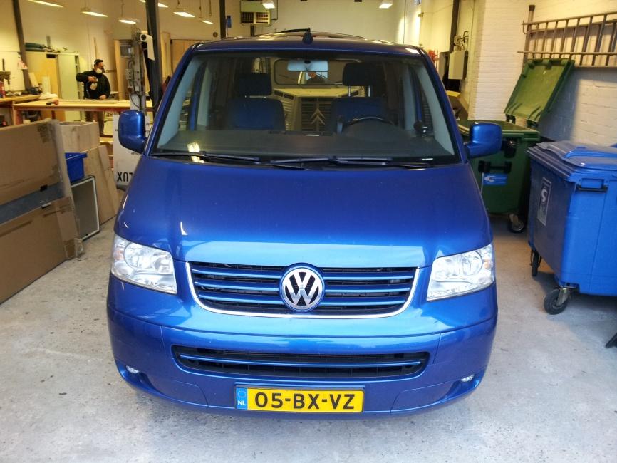Hefdak op VW Multivan (afgerond)