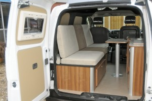 nissan nv200 camper nissan nv200 hefdak nissan nv200. Black Bedroom Furniture Sets. Home Design Ideas
