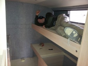 vast bed camper
