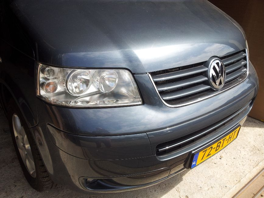 VW T5 hefdak (afgerond)