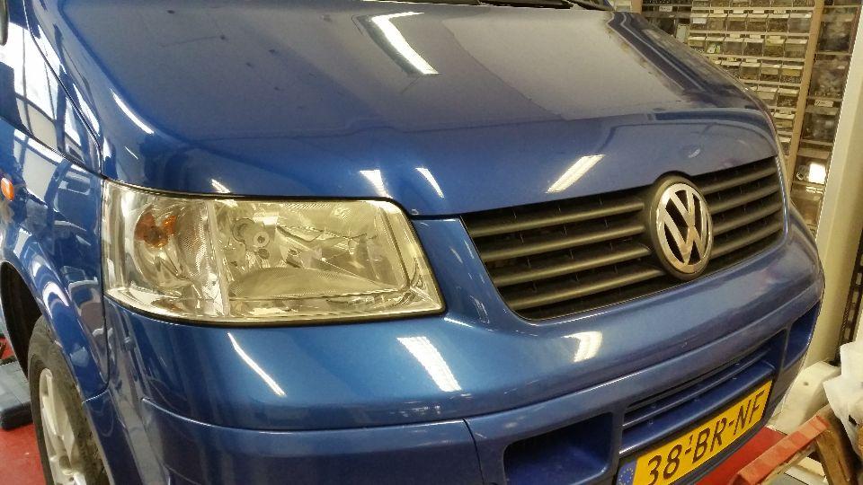 VW T5 camper met hefdak (afgerond)