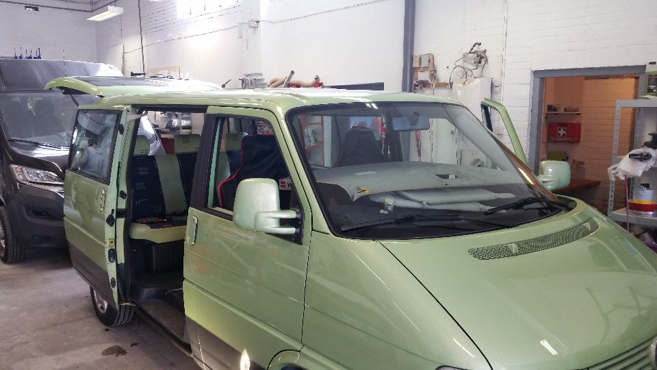 VW T4 hefdak (afgerond)