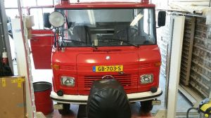 brandweerwagen camper