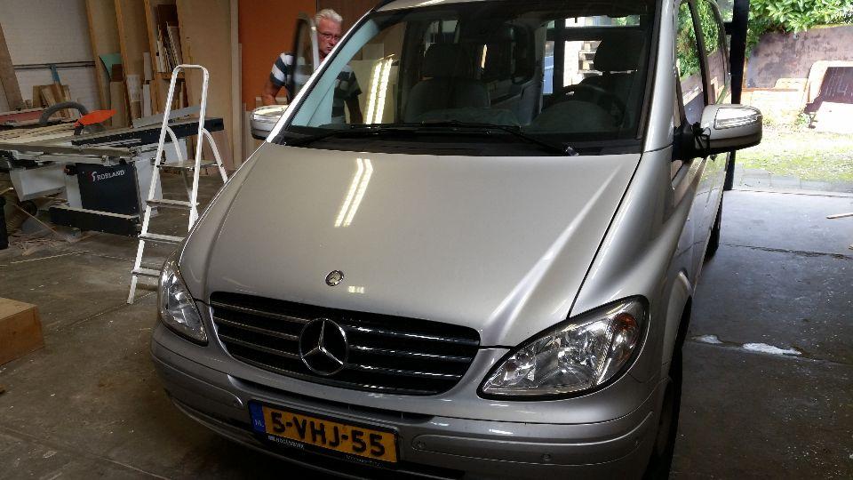 Mercedes Viano camper (afgerond)