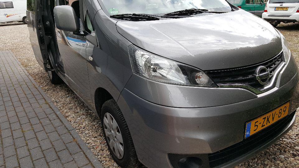 Nissan Evalia camper (afgerond)