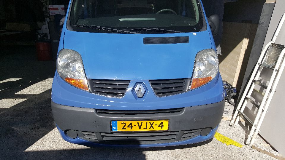 Renault Trafic SCA hefdak (afgerond)