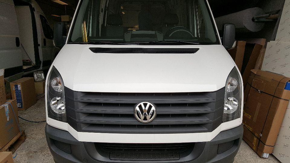 Volkswagen Crafter camper (afgerond)