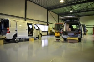 customcamp werkplaats