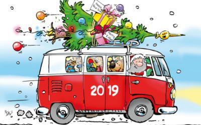 Fijne kerst en een goed 2019!