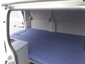 minicamper Nissan NV200 CustomCamp