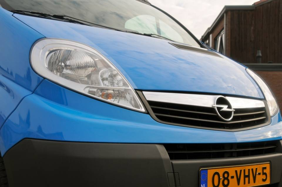 Opel Vivaro alias Blue Diamond (afgerond)