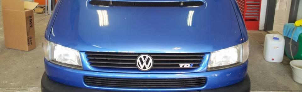 Camper VW T4 (afgerond)