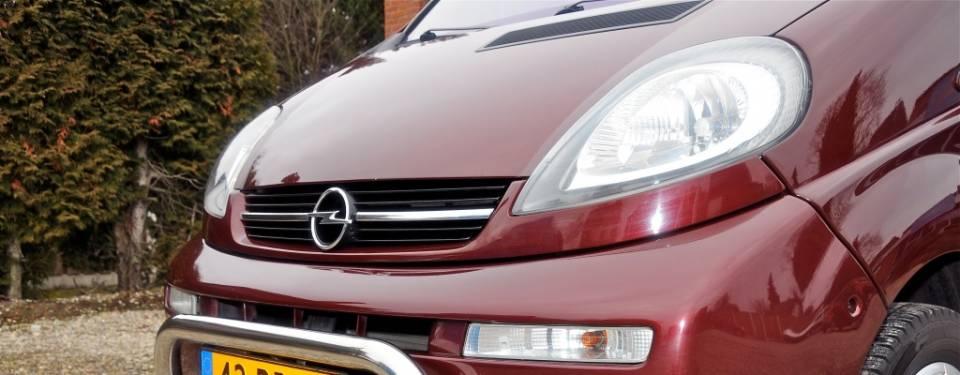 Opel Vivaro hefdak (afgerond)