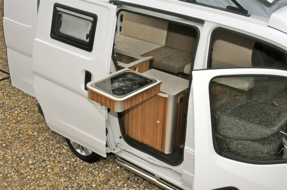 Nissan NV200 camper op TV!