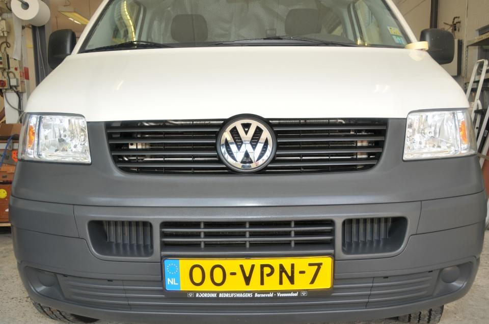 VW T5 hoog dak (afgerond)