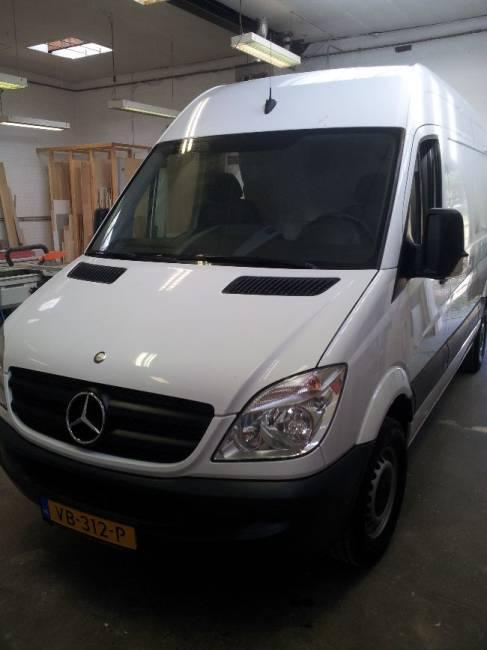 Mercedes Sprinter camper (afgerond)