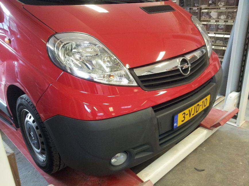 Opel Vivaro camper (afgerond)