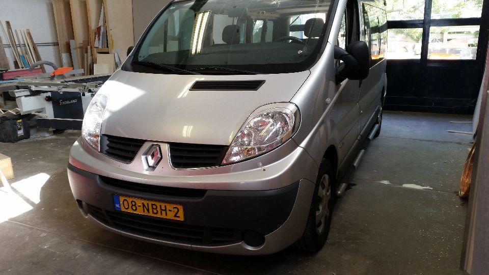 Renault Trafic hefdak (afgerond)