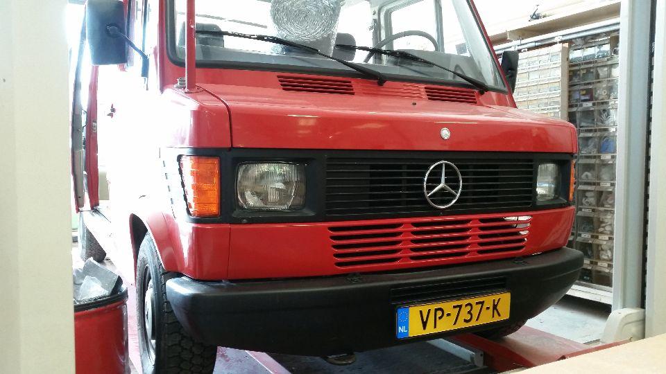Mercedes Benz Brandweerwagen