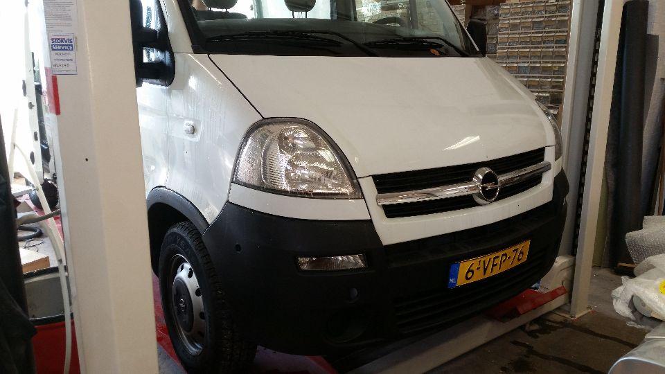 Opel Movano camper (afgerond)