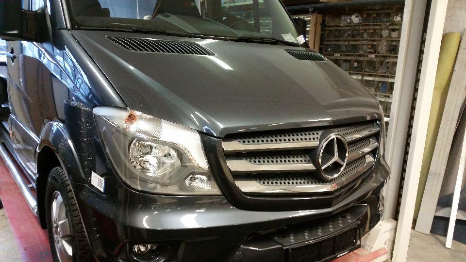Mercedes Sprinter L2H2 camper (afgerond)
