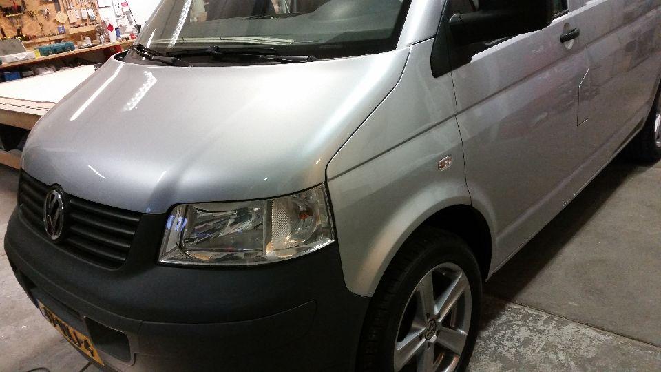 VW T5 camper hefdak (afgerond)