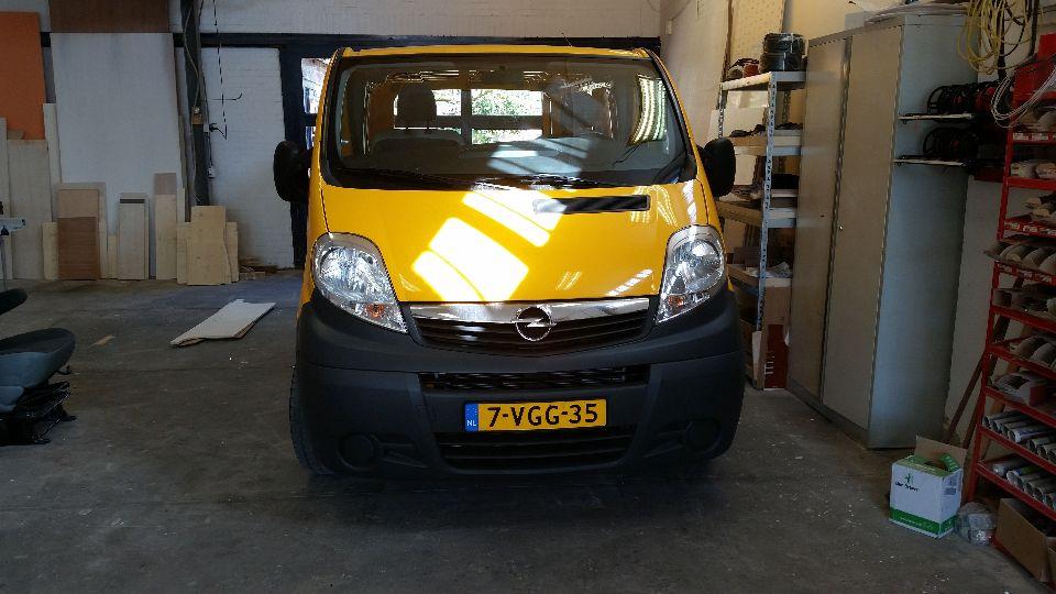 Renault Trafic L2H1(afgerond)