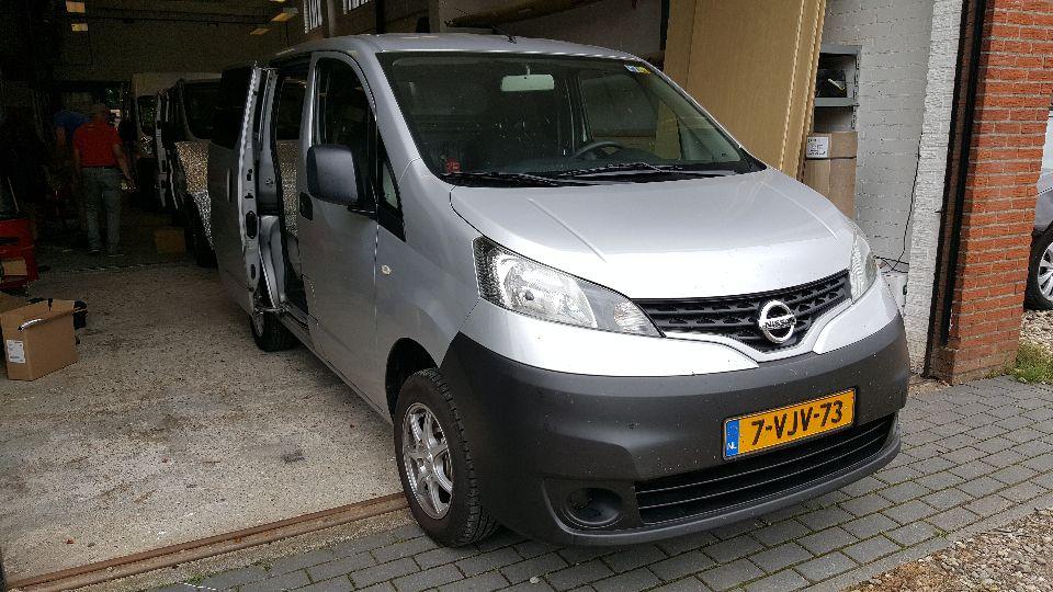 Nissan NV200 camper (afgerond)