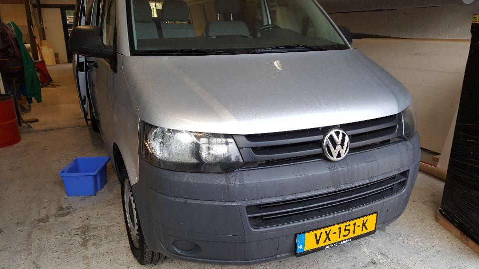 VW T5 met hefdak (afgerond)