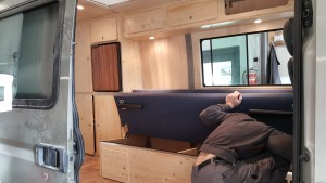 slaapbank camper