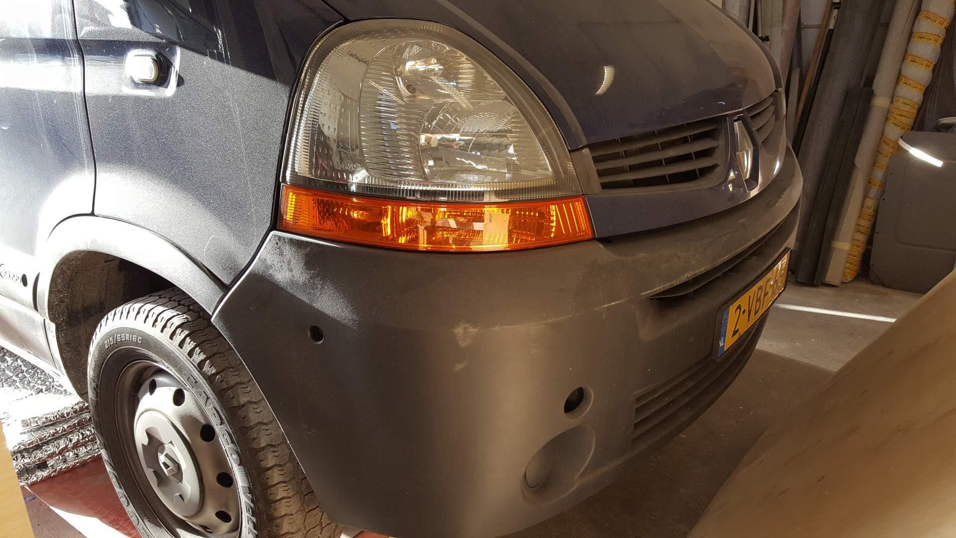 Renault Master camper (afgerond)