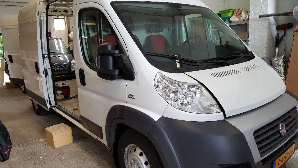 Fiat Ducato camper automaat (afgerond)