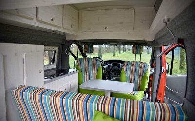 Opel Vivaro camper 490 cm