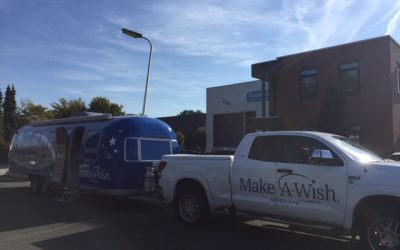 WoW! Make-a-Wish caravan bij CustomCamp