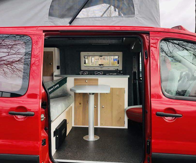 Peugeot Expert camper hefdak