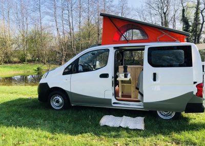 Nissan Nv200 camper.30