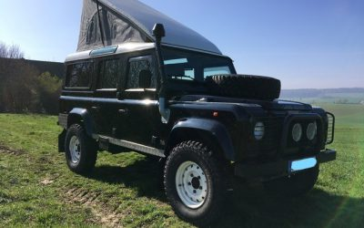 Landrover Defender met Drivelodge hefdak