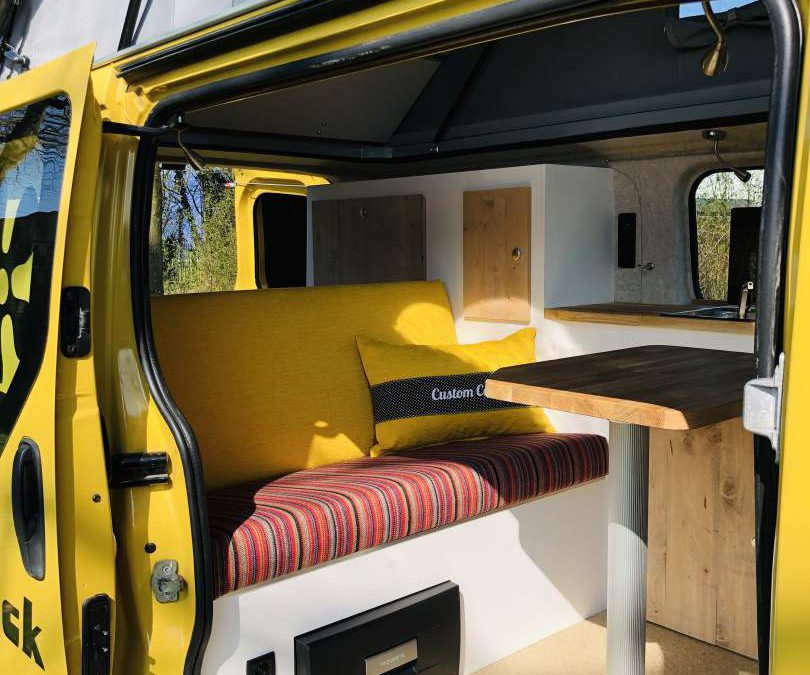 Opel Vivaro camper hefdak