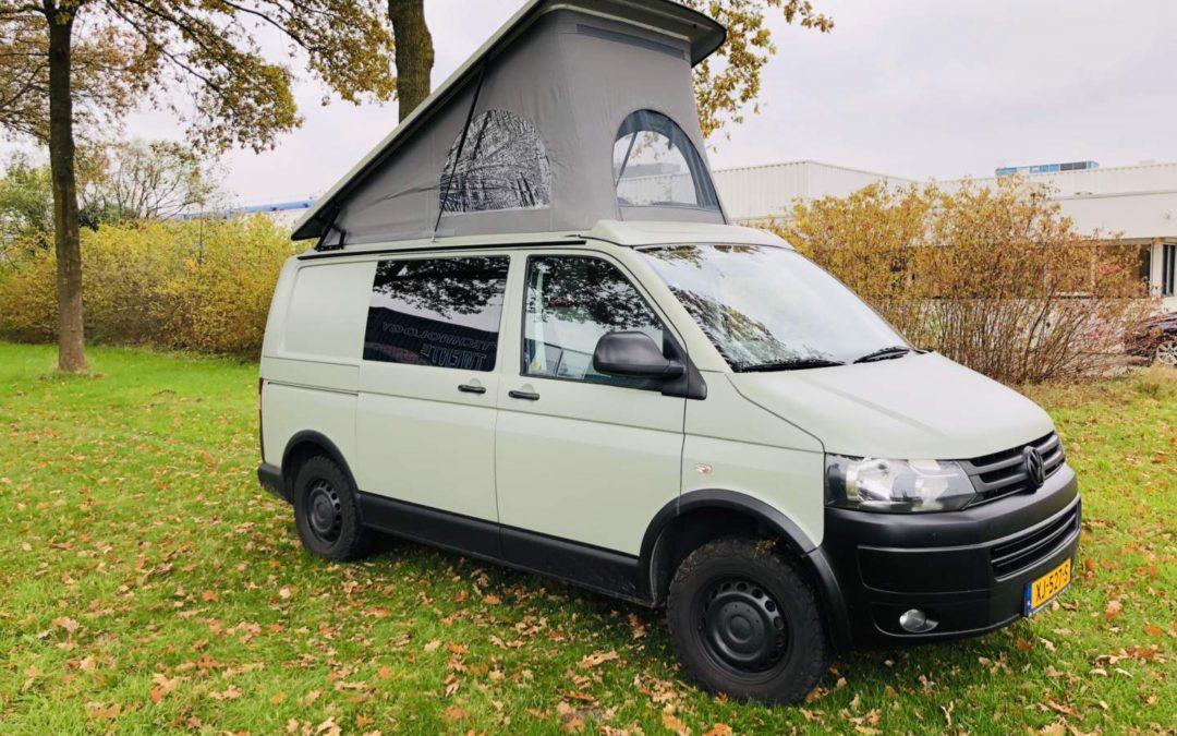 VW T5 4×4 camper