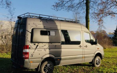 Mercedes Sprinter 4×4 camper