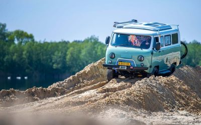 UAZ Bukhanka CustomCamp style in verschillende media