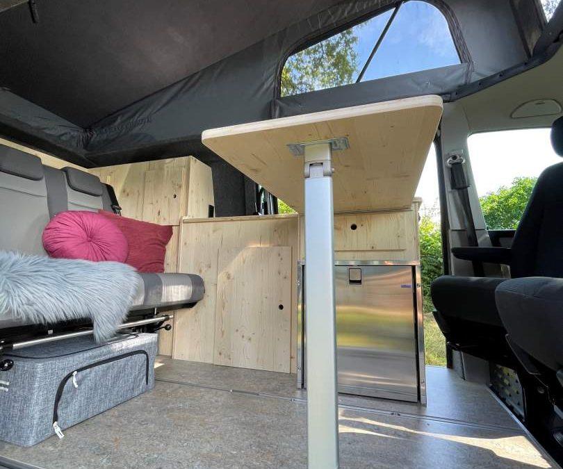Compacte VW T5 camper